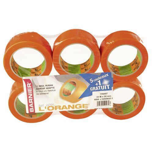 Pack de 5+1 gratuit - Rubans Pvc Orange® multi-usages - 6095 image