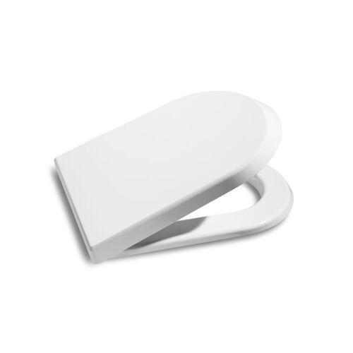 Abattant WC double Nexo - résine thermodur blanc - frein de chute image