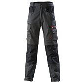 Pantalon FORAS work attitude Charcoal/Noir image