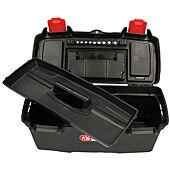 Boîte à outils de technicien, L383 X P188 X H168 avec plateau de rangement image