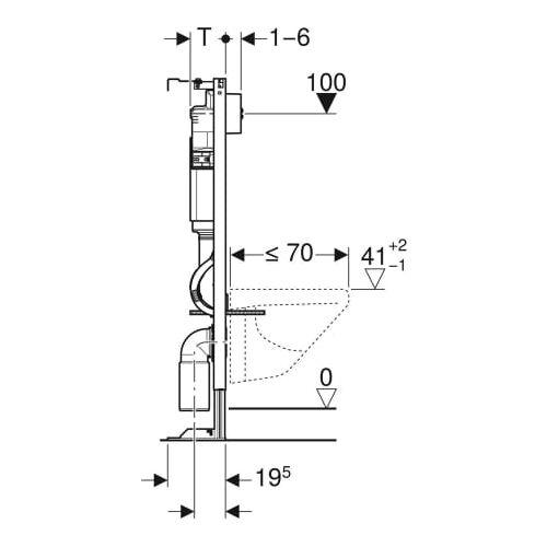 BATI-SUPPORT DUOFIX BASIC AUTOPORTANT DELTA REF image